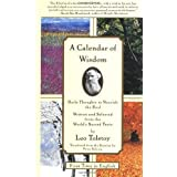 A Calendar of Wisdom: Daily Thoughts to Nourish the Soul, Written and Selected from the World's Sacred Texts - October, 1997