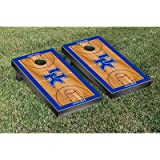 英国Kentucky Wildcats Cornhole Game Set Basketball Courtバージョン