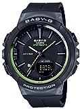[カシオ] 腕時計 ベビージー FOR RUNNING STEP TRACKER BGS-100-1AJF レディース ブラック
