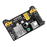 EasyWordMall 3.3V 5V MB102ブレッドボード用 電源モジュール パワーモジュール