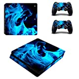 Linyuan 安定した品質 0045* Skin Sticker Vinyl Decal Cover for PlayStation PS4slim Console+Controllers