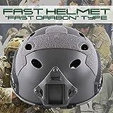 My Vision サバゲ必須品 Ops-core FAST タイプヘルメット 頭 保護 アウトドア サバイバル (OD) MV-FASTH-OD