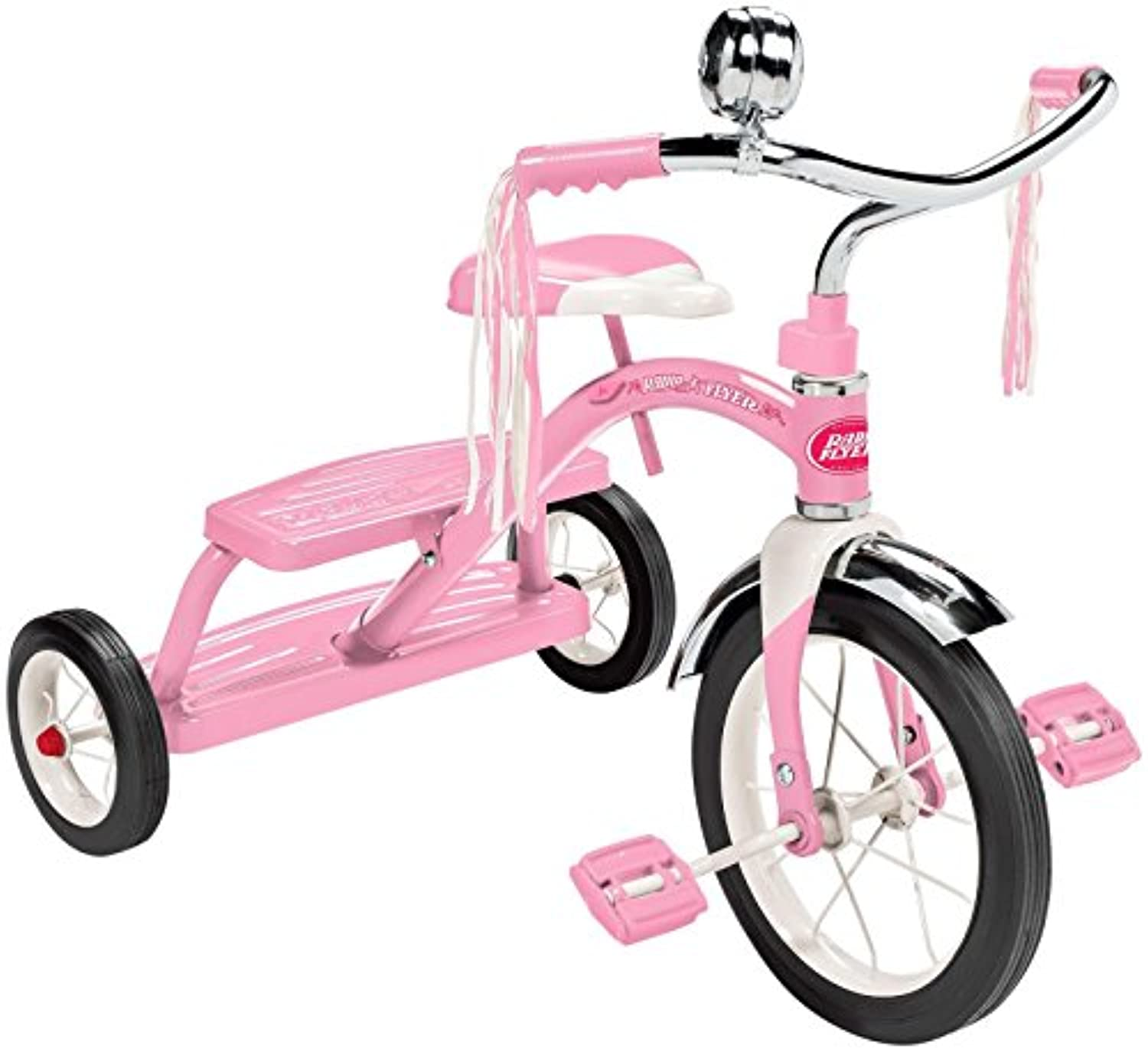 Radio Flyer Classic Pink Dual Deck Tricycle Ride On 141[並行輸入]