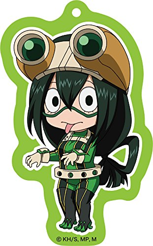 ねんどろいどぷらす 僕のヒーローアカデミア アクリルキーチェーン 蛙吹梅雨