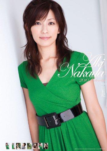 中田有紀 2010年カレンダ-