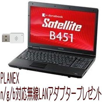 東芝 PB451ENBNR5A51 dynabook Satellite B451/ E:Cel B815/ 2G/ 250G/ SMulti/ 7Pro 32or64/ Office無