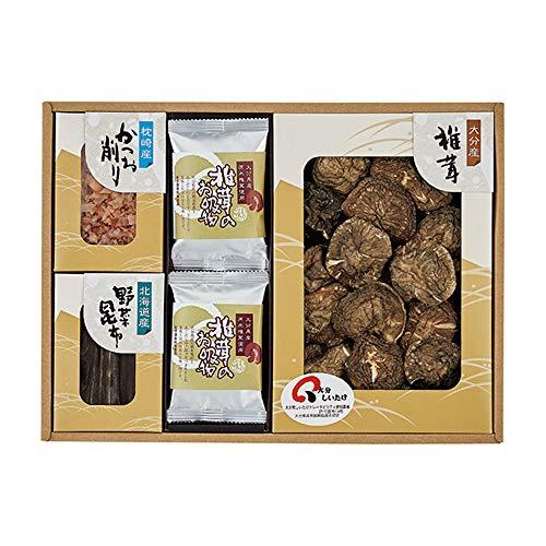 日本の美味・御吸い物 フリーズドライ詰合せ 乾椎茸・野菜昆布・かつお削り・お吸い物 FB40