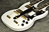Epiphone By Gibson / Limited Edition G-1275 Double Neck Alpine White/Gold Hardware
