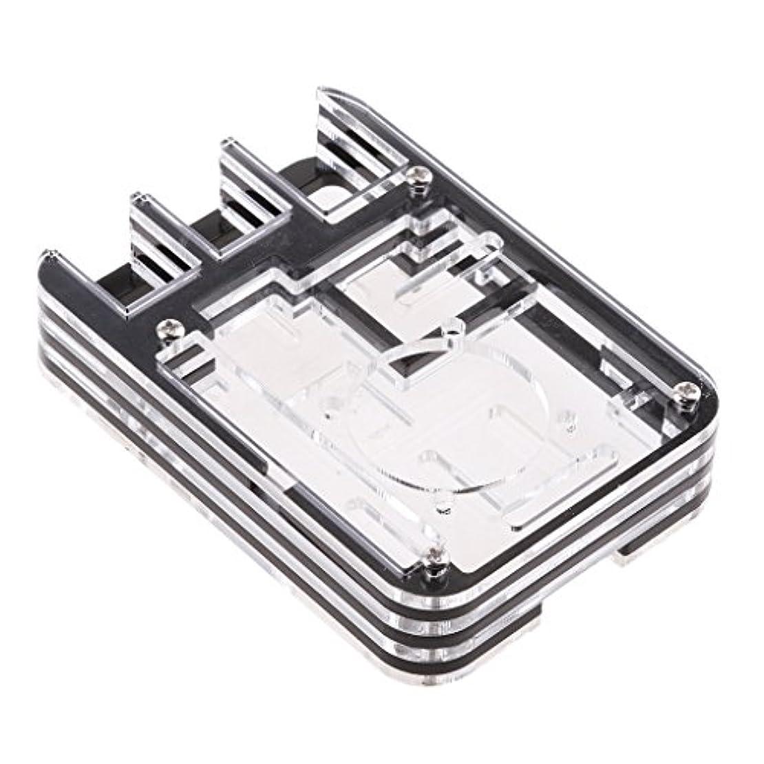 利点アルカトラズ島ガジュマルmonkeyjack保護ケース/ボックス/エンクロージャfor Raspberry Pi 3 2 Model B B +