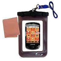 Gomadicアウトドア防水携帯ケースSuitable for the Samsung Brightside / sch-u380に使用Underwater–keepsデバイスClean and Dry
