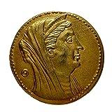 古代ギリシャ プトレマイオス朝 オクタドラクマ金貨