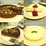 お試し人気のチーズケーキ2個セット(レア・チョコ)(冷凍)初回限定