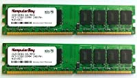 Komputerbay 4GB (2x 2GB) ddr2DIMM (240ピン) am2667MHz pc25400/pc25300for Jetway jm26gt44GB