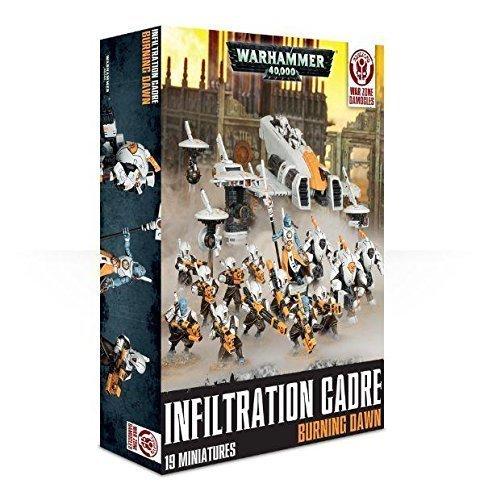 [ウォー ハンマー]Warhammer WH40k Infiltration Cadre Burning Dawn War Zone Damocles DC1-60 [並行輸入品]