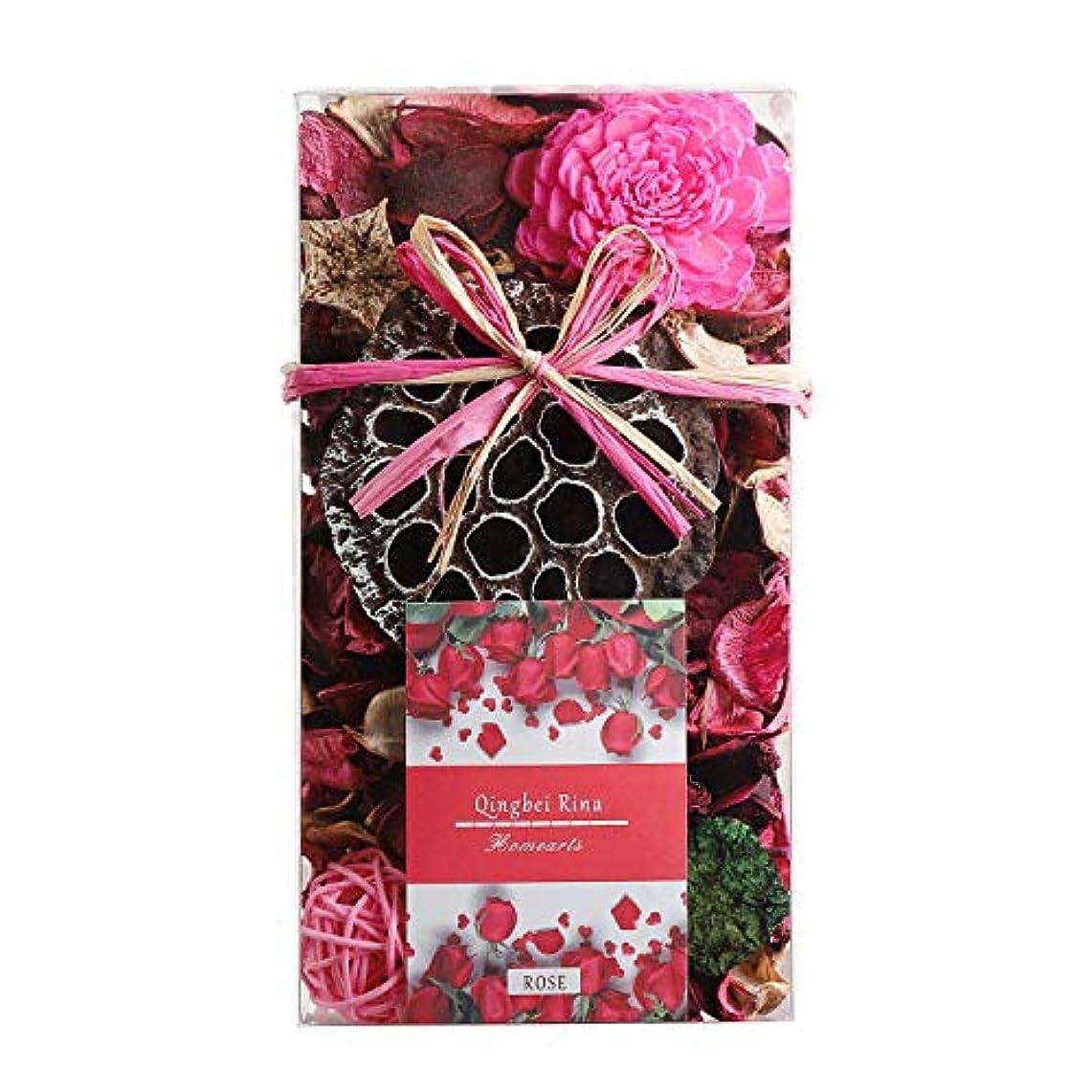 手紙を書く考案するその他Qingbei Rina ポプリ ピンク 200g バラのポプリ ギフト 手作りの自然素材