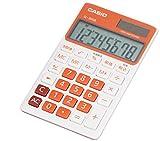 カシオ 電卓 手帳タイプ 8桁 SL-300B-RG-N フレッシュオレンジ