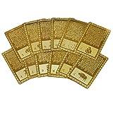 全12種類 開運祈願 開運カード 干支シリーズ 護符 I:大日如来(さる)