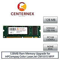 128MB RAMメモリfor HPCompaq Color LaserJet cm1015MFP ( pc100) ( c9121a )プリンタメモリアップグレードby US Seller
