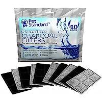 木炭使用の高品質な浄水装置 ドリンクウェル・ファウンテン用 10個パック ホワイト (並行輸入)