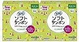 【まとめ買い】ソフィ ソフトタンポン スーパー 量の多い日用 32コ入×2個パック(unicharm Sofy)