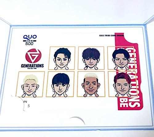 GENERATIONS QUOカード 500円分 EXILE...