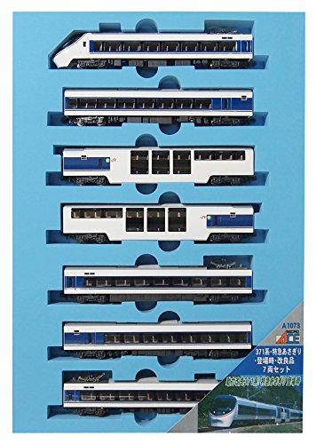 マイクロエース Nゲージ 371系・特急あさぎり・登場時・改良品 7両セット A1073 鉄道模型 電車の詳細を見る