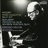 モーツァルト:ピアノ協奏曲第21&27番、シューベルト:即興曲&楽興の時 画像