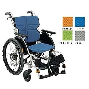 車椅子(自走式) ネクストコア・プチ NEXT-10B F-2ブルー<松永製作所>
