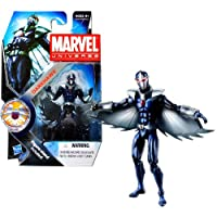 Hasbro Year 2011 Marvel Universe Series 3 SHIELD Single Pack 4 Inch Tall Action Figure #18 - DARKHAWK with Wings and