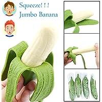 coerni Squeezeバナナ、シミュレーションジャンボStress Relief Squeeze Toys