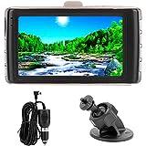 Aramox ドライブレコーダー、3.0in 640 * 360プロフェッショナルカードライビングレコーダーHDナイトビジョンカメラ