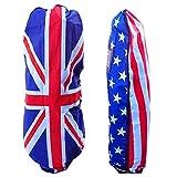 ラコステ GOLF トラベルカバー ゴルフバッグ トラベルケール トラベルカバー 旅行 宅配 保護 国旗 イギリス