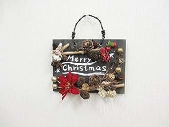 【ロサブランカ】  クリスマスの ウッドプレート ・スノーマン