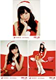 乃木坂46 西野七瀬 生写真 2013 Christmas サンタ 3種コンプ