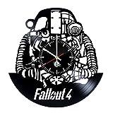 ビデオゲーム キャラクター デザイン ビニール レコード 壁掛け 時計 - ユニークなベッドルームまたはリビングルームの壁の飾りを得ます - 男性と女性のためのギフトのアイデア - ポピュラー ビデオゲーム モダンでユニークなアート