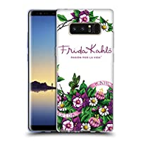 Official Frida Kahlo バンチ パープル・フローラル ソフトジェルケース Samsung Galaxy Note8 / Note 8