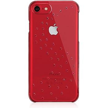 iPhone7 スワロフスキー ケース Bling My Thing Milky Way シンプル デザイン スリム クリア ハード カバー [ アイフォン 7 専用 ] Red Brilliance