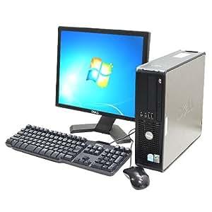 中古 Win7搭載 デスクトップパソコン DELL Optiplex745SFF Core2Duo 2GB 160GB DVDマルチ 17インチ液晶セット 【KingosftOffice2012】