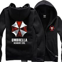 バイオハザード Resident Evil アンブレラ社 レオン・S・ケネディ ジャージー/パーカー コスチューム Cosplay Costume 長袖 Sサイズ COSSKY
