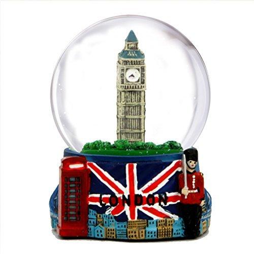 London Snow Globe with Big Ben...