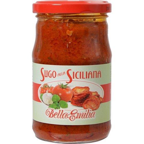 ベラエミリア シチリア風トマトソース〜サンドライトマトとバジル入り〜290g