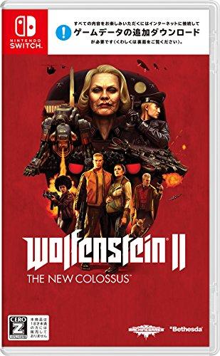 Wolfenstein (R) II: The New Colossus (TM) (ウルフェンシュタインII:ザ ニューコロッサス) - Switch 【CEROレーティング「Z」】 (【Amazon.co.jp限定】オリジナルマイクロファーバークロス 同梱)