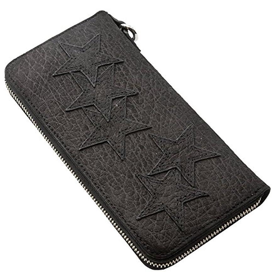 ストレッチ椅子不測の事態[アルテミスクラシック]Artemis Classic ウォレット 財布 スターパッチバッファローzipウォレット2nd