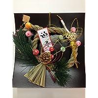 正月飾り リース [ちりめん鶴] [おもちゃ&ホビー]