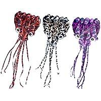 joyibay KiteおもちゃビーチKite Frameless Speckle Long Tail Octopus LargeアウトドアKite子供大人