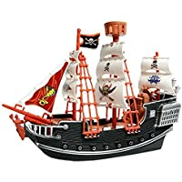 Deluxe Detailed Toy Pirate Ship [並行輸入品]