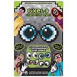 Pixel-8 Eyes Set ピクセル-8アイズセット?ハロウィン?クリスマス?One-Size