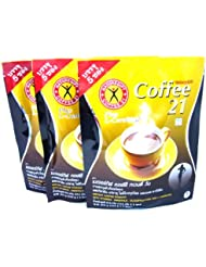 3x Naturegift Instant Coffee Mix 21 Plus L-carnitine Slimming Weight Loss Diet Made in Thailand by alanroger