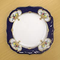 皇室御用達 大倉陶園 エンプレスローズ 20cmケーキ皿