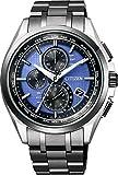 [シチズン]CITIZEN 腕時計 エコ・ドライブ電波時計 ダイレクトフライト 針表示式 LIGHT in BLACK 世界限定2,200本 AT8044-72L メンズ